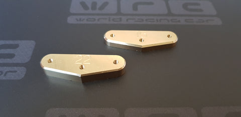22g Brass Chassis Bumper Weight NTX