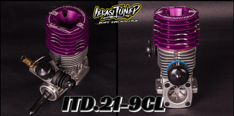 Ielasi Tuned ITD.21-9CL Long Stroke Engine