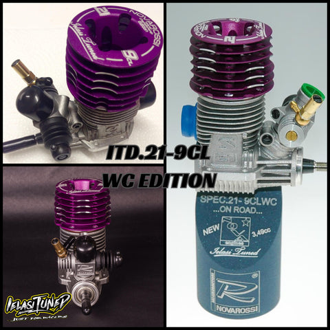 Ielasi Tuned ITD.21-9CL WC Edition Long Stroke Engine - Ceramic Bearings