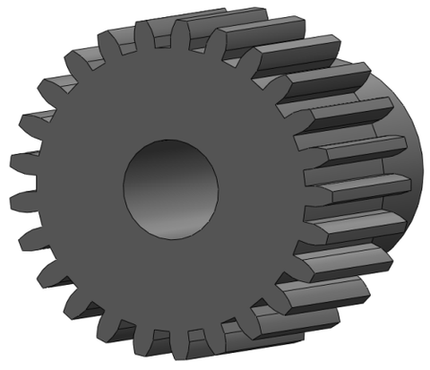 PINION GEAR 43 T P64