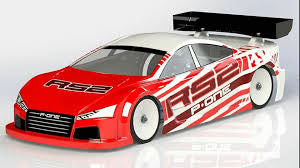 RS2 TOURING CAR BODY 190MM P-One