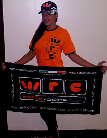 WRC Basic Logo T-Shirt Orange Size M