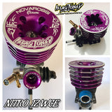 IELASI TUNED NITRO .12 2017 WC 3 PORT LONG STROKE STEEL BEARING