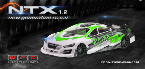NTX 1.2 Nitro Touring Car Kit (European Champion) 2018