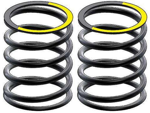 2.2 lb. SHORT SHOCK ABSORBER SPRINGS D. 1.3 MM. - YELLOW - STX F-ONE