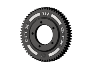GTX COMPOSITE 2-SPEED GEAR 61T(1ST) STANDARD
