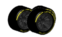 P-ONE TYRES FOR FORMULA CAR 1/10 - FRONT