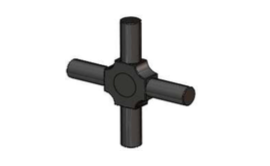 STX COMPOSITE GEAR DIFFERENTIAL CROSS PIN