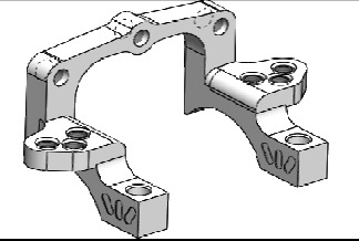 Double Eccentric Clamp Fr or Rr STX 017