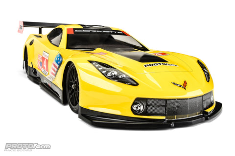 Cheverolet Corvette C7.R Clear Body