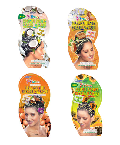 Montagne Jeunesse 7th Heaven Rescue Hair Masques Treatment - edmondos-uk