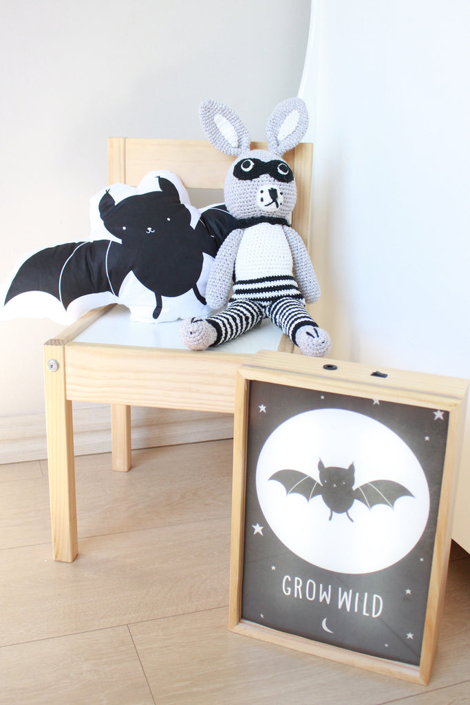 Scatter Cushion - Billy Bat