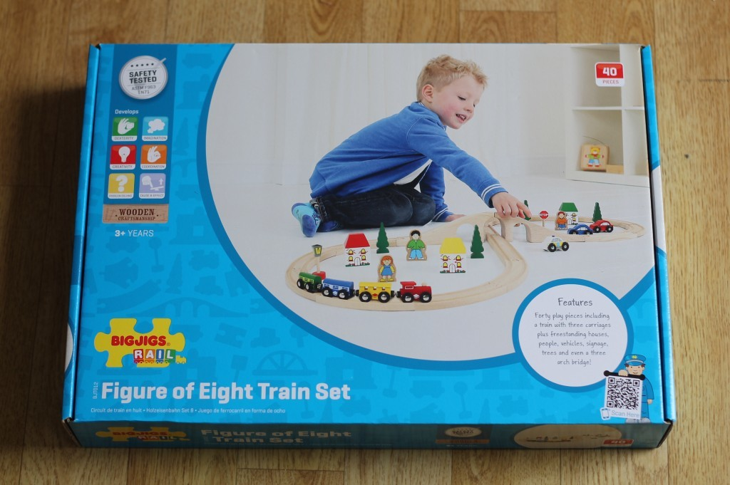 BigJigs Rail - Figure of Eight Train Set