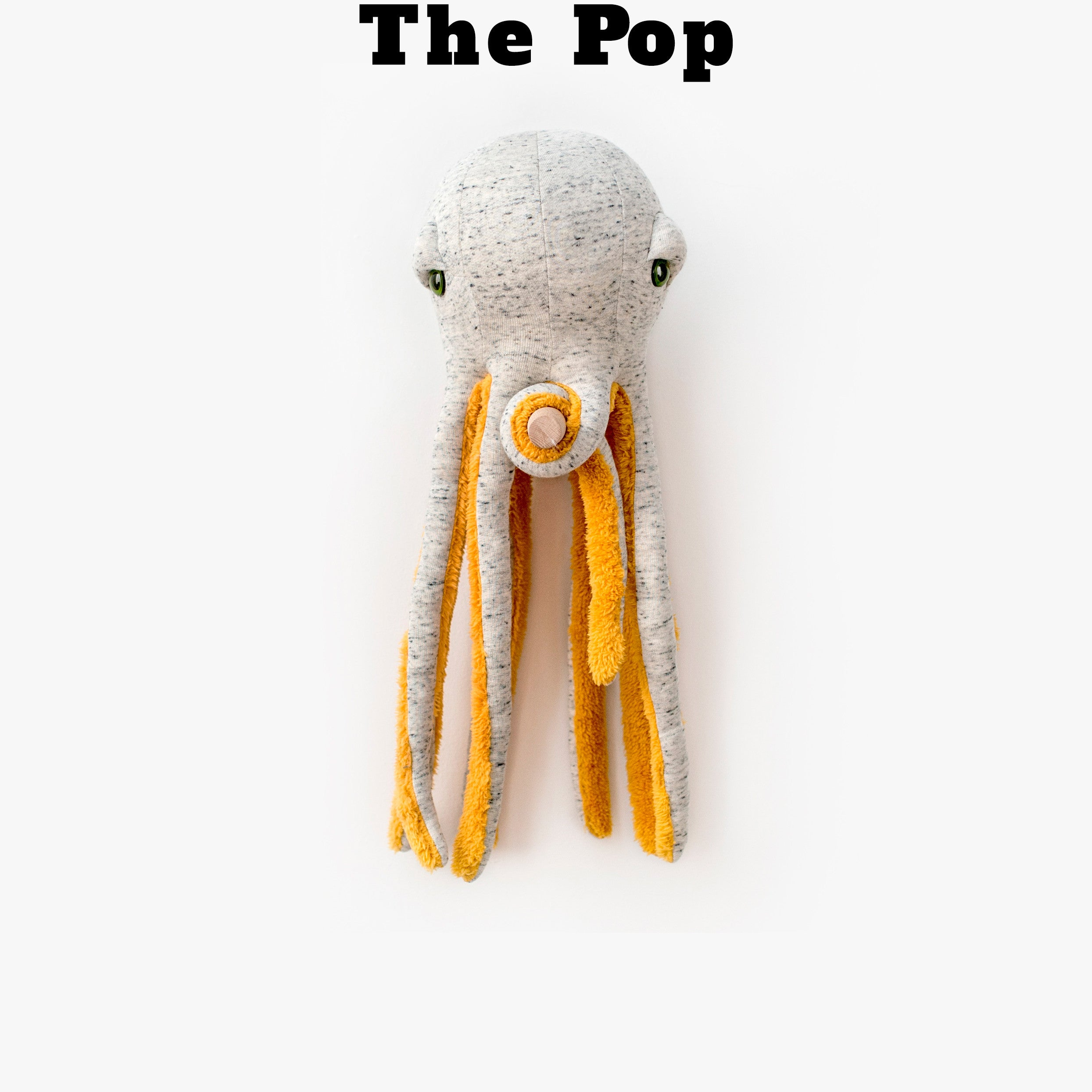 Pop Octopus - www.bigstuffed.com