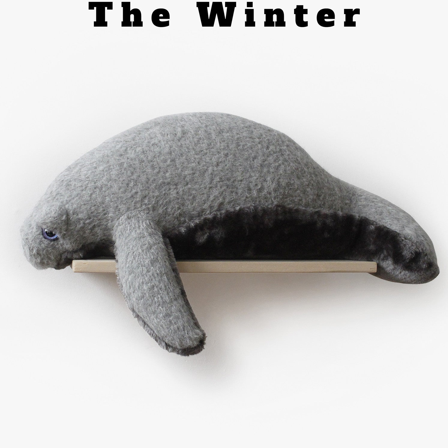 Winter Manatee - www.bigstuffed.com