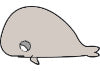 bubble whale Icon