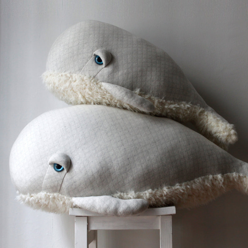 The Bubble Whale Stuffed Animal | by BigStuffed