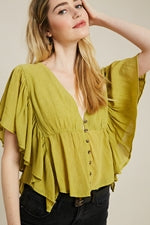 WL Spring top yellow