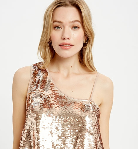 WL tank blush (sequin)