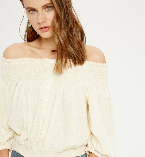 WL top in cream