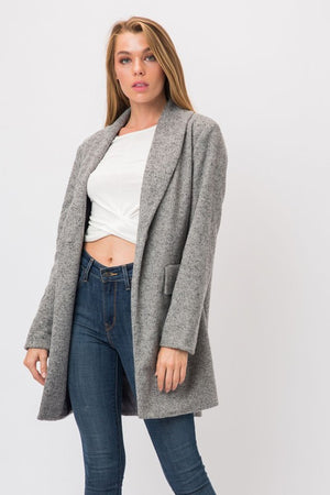 Boyfriend Blazer in heather grey