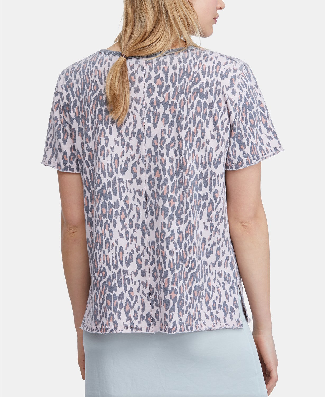 Freepeople printed shirt in rose