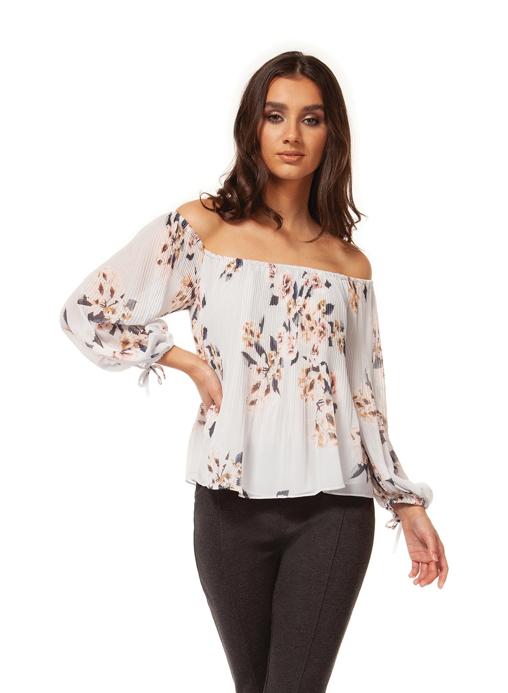 NEW Dex printed floral top!