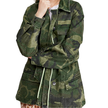 Freepeople seize the day military jacket
