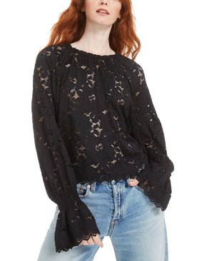 FreePeople black lace top