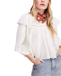 FP Ivory Lace Top