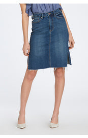 DJ denim skirt