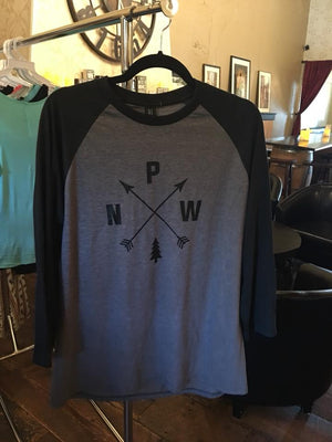 Men's Pacific Northwest Raglan Tee