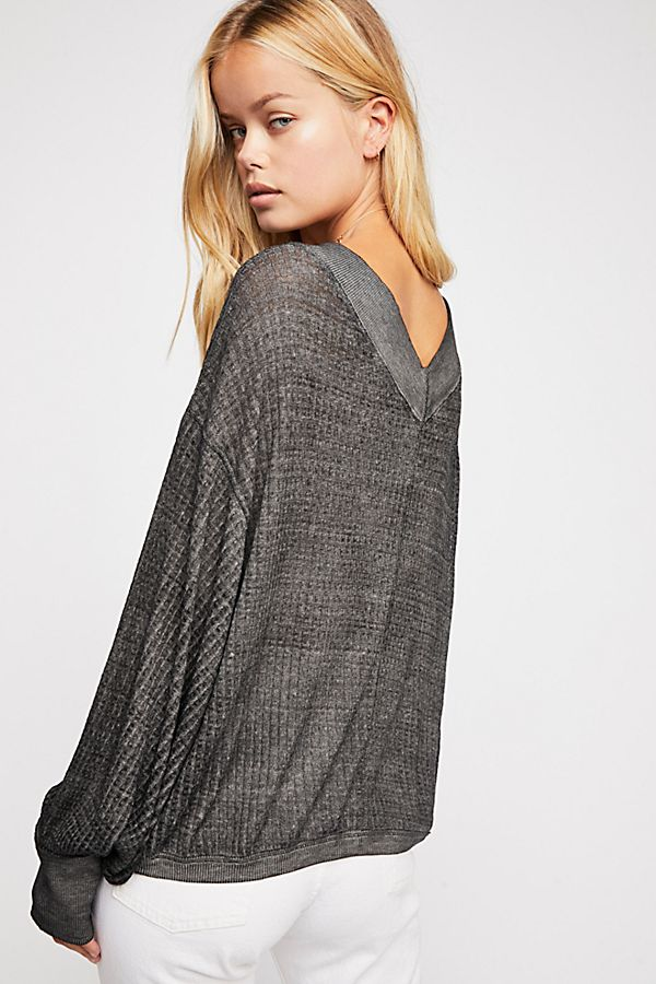 FreePeople We the free south side thermal top