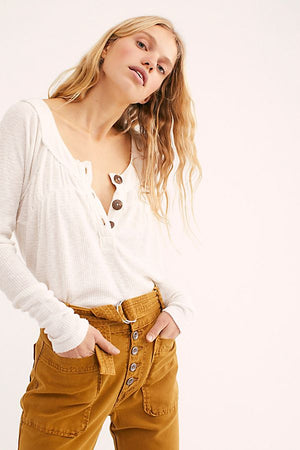 Freepeople Must Have Henley ivory