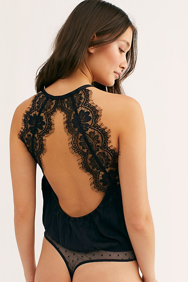 Freepeople bodysuit black