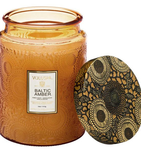 Voluspa Large Candle Baltic Amber