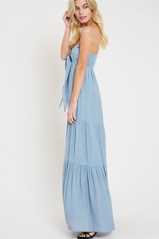 Wishlist sky blue maxi dress