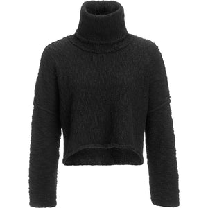 Freepeople Big Easy Cowl Pullover in black