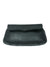 ASTRID NOIR SINGLE STITCH FOLDOVER CLUTCH