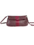 ASTRID MULBERRY NOVELTY LEATHER FOLDOVER CLUTCH