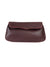 ASTRID MULBERRY LEATHER SINGLE STITCH FOLDOVER CLUTCH
