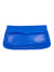 ASTRID AZUL SINGLE STITCH FOLDOVER CLUTCH