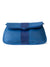 ASTRID AZUL NOVELTY LEATHER FOLDOVER CLUTCH / CROSSBODY / HIP POUCH