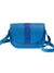 MAYA AZUL NOVELTY LEATHER CROSSBODY BAG