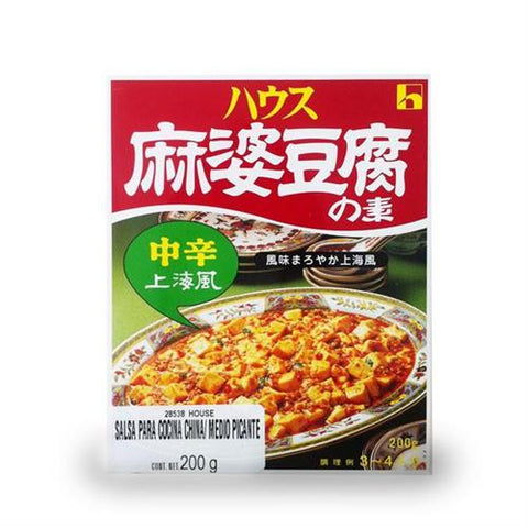 House Mabo Tofu Med Hot 200 grs