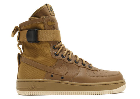 "Nike W's SF Air Force One High ""Special Field Urban Utility"" Golden Beige"