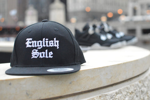 "English Sole ""Old English"" Hat - Black - EnglishSole"