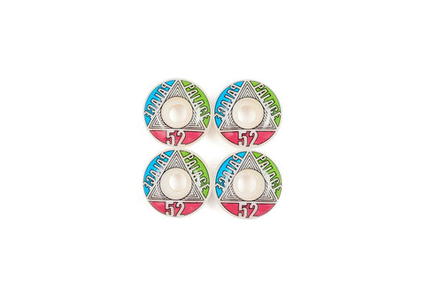 Palace - Team Wheel 52MM (Blue/Green/Pink)