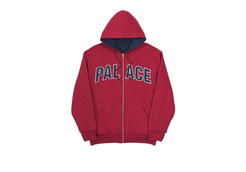 Palace - Reversible 900 Tonka Hood (Beet Red/Navy)