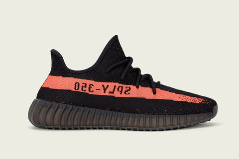 adidas Yeezy Boost 350 V2 Black and Red - EnglishSole - 2